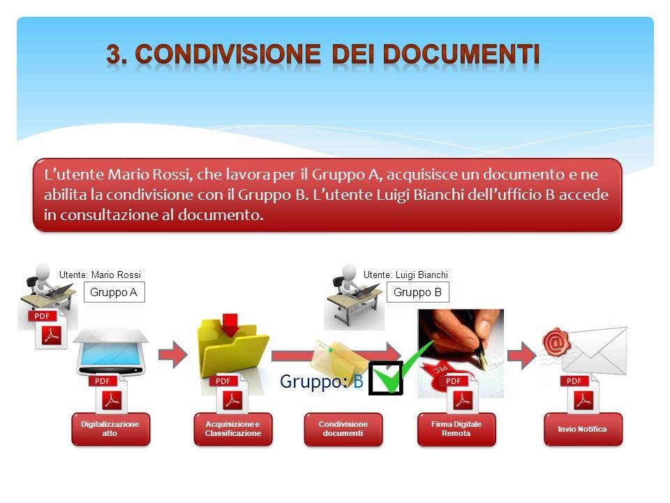 3. Condivisione dei documenti