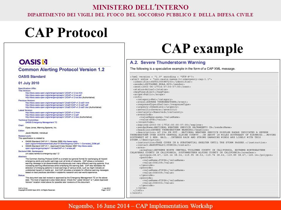 CAP Protocol CAP example