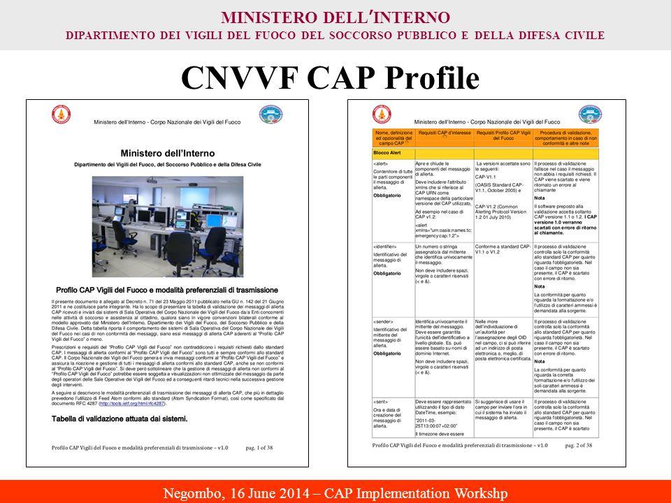 CNVVF CAP Profile