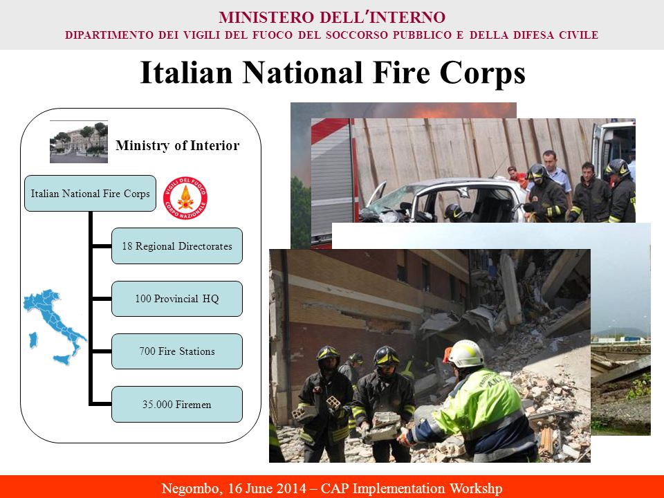 Italian National Fire Corps