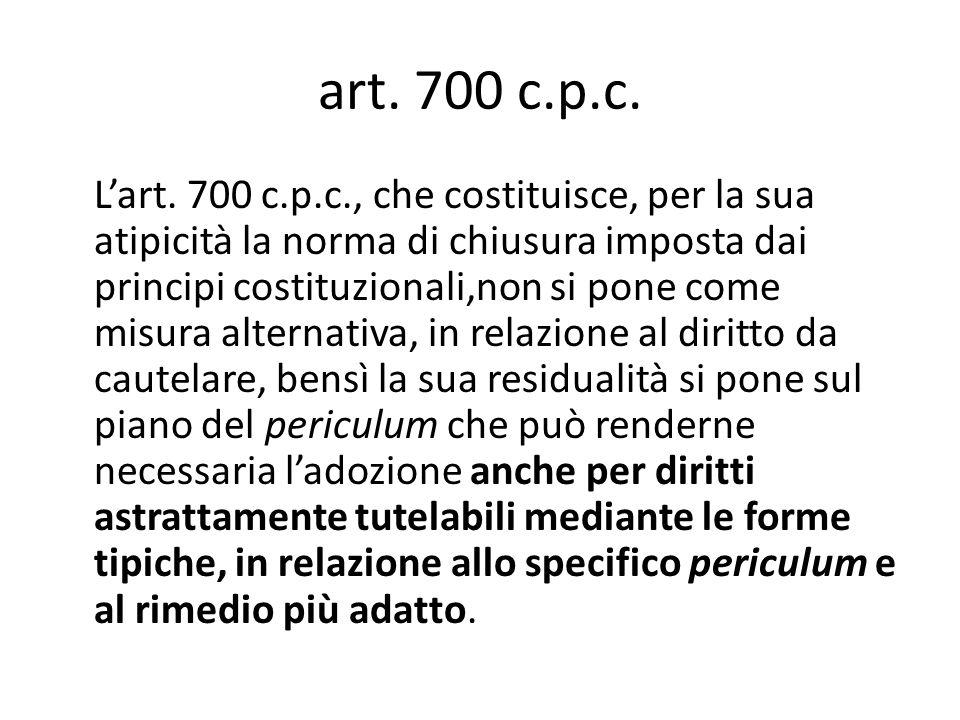art. 700 c.p.c.