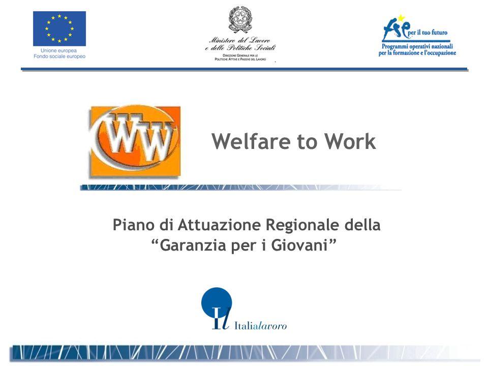 Piano di Attuazione Regionale della Garanzia per i Giovani