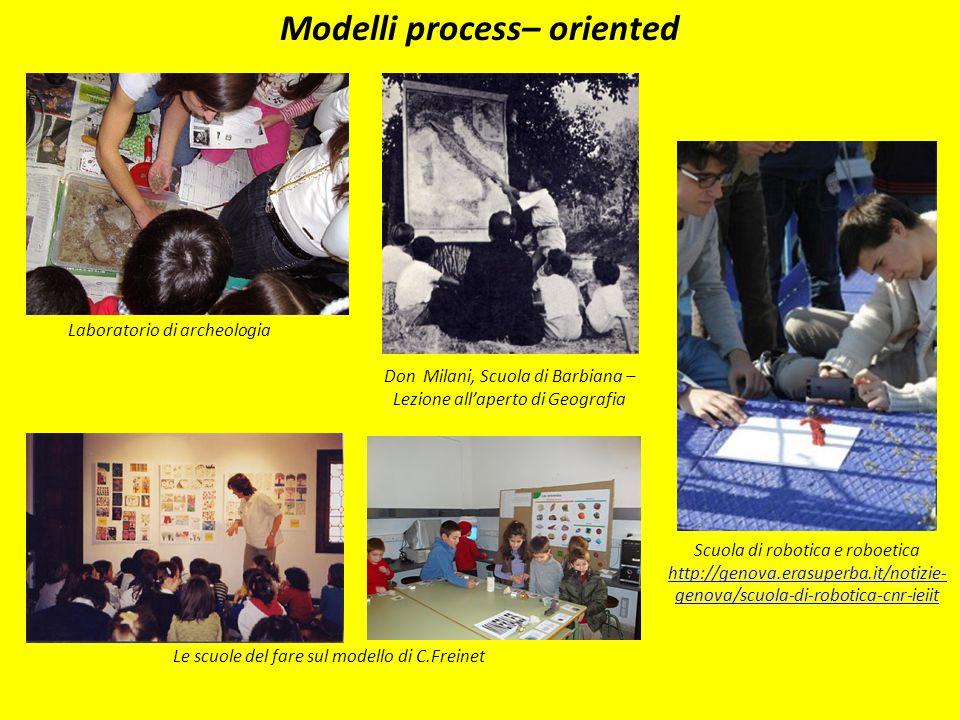 Modelli process– oriented