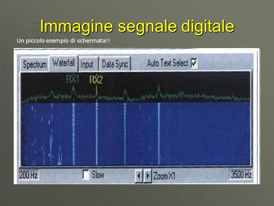 Immagine segnale digitale