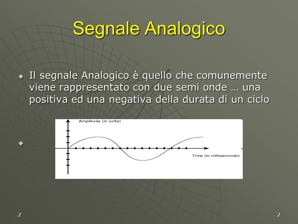 Segnale Analogico