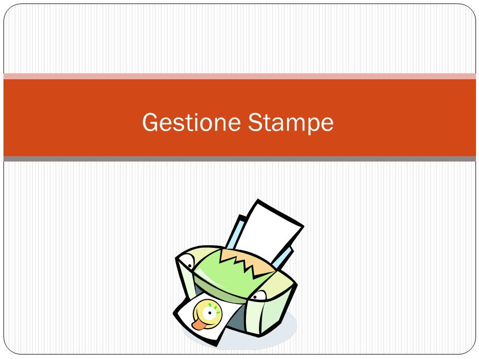 Gestione Stampe