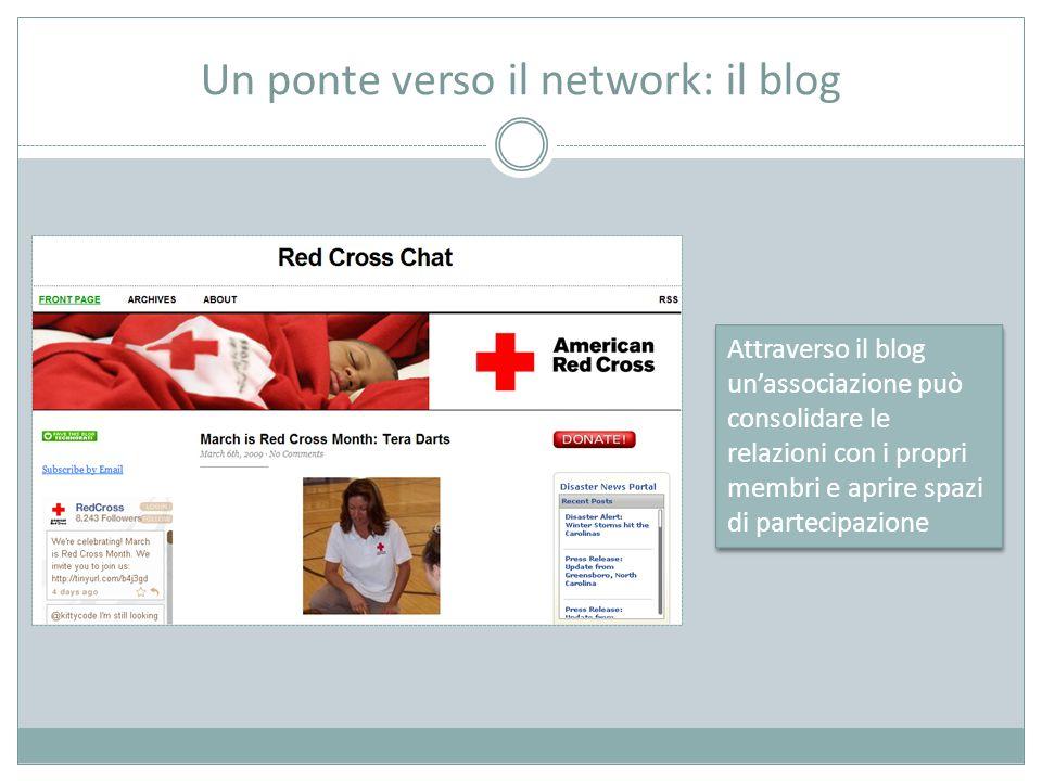 Un ponte verso il network: il blog