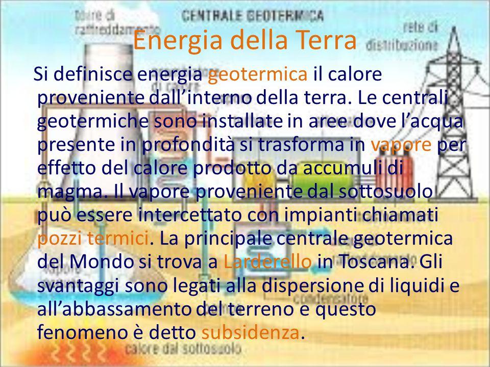 Energia della Terra