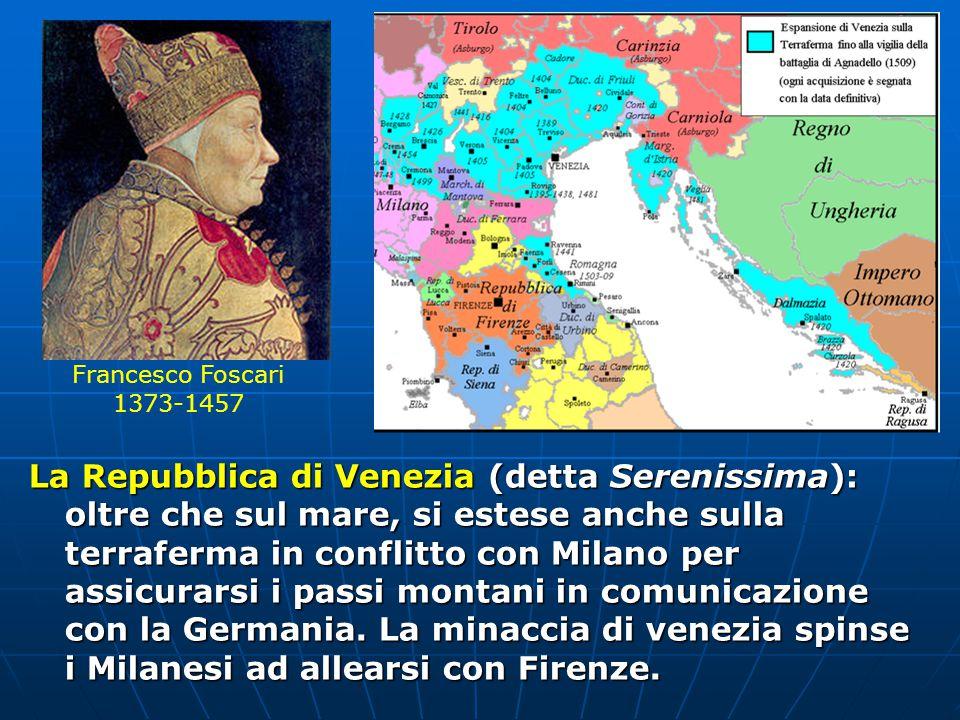 Francesco Foscari 1373-1457.