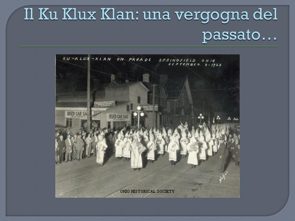 Il Ku Klux Klan: una vergogna del passato…