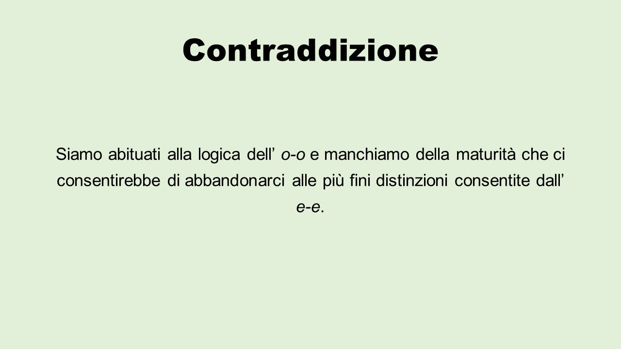 Contraddizione