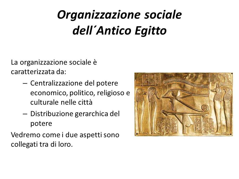 Organizzazione sociale dell´Antico Egitto