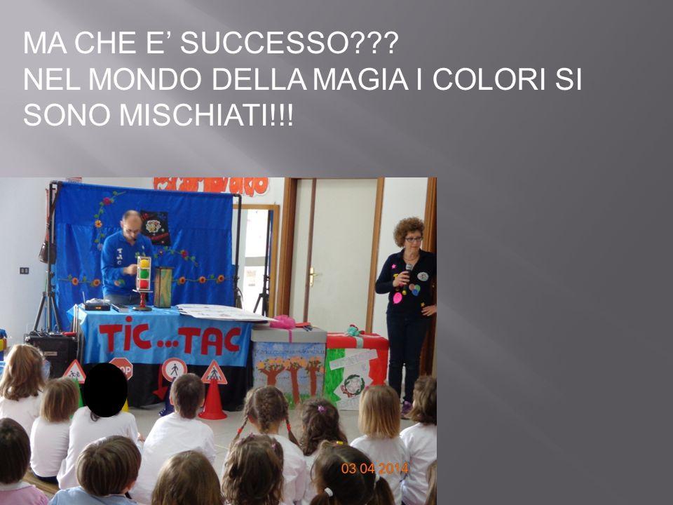 MA CHE E' SUCCESSO NEL MONDO DELLA MAGIA I COLORI SI SONO MISCHIATI!!!