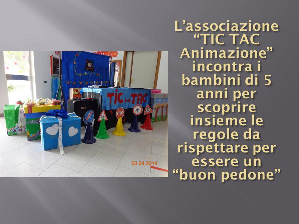 L'associazione TIC TAC Animazione incontra i bambini di 5 anni per scoprire insieme le regole da rispettare per essere un
