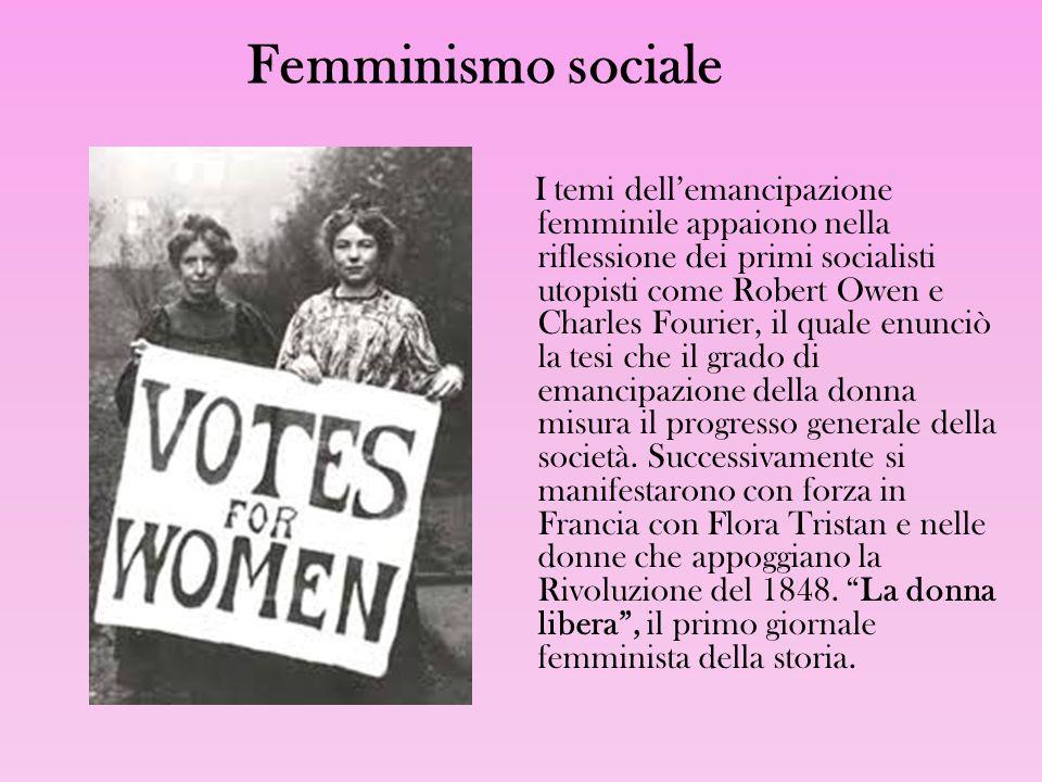 Femminismo sociale