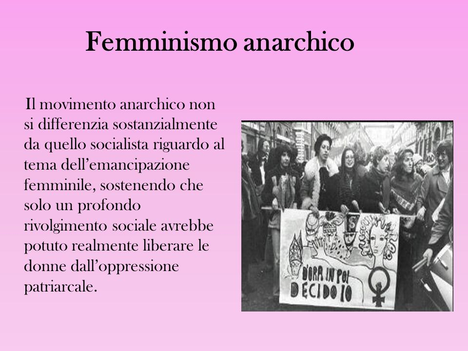 Femminismo anarchico