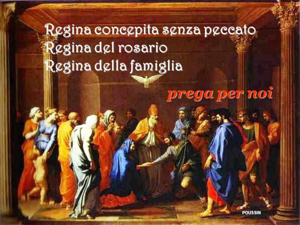 Regina concepita senza peccato Regina del rosario