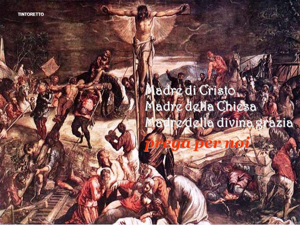 prega per noi Madre di Cristo Madre della Chiesa