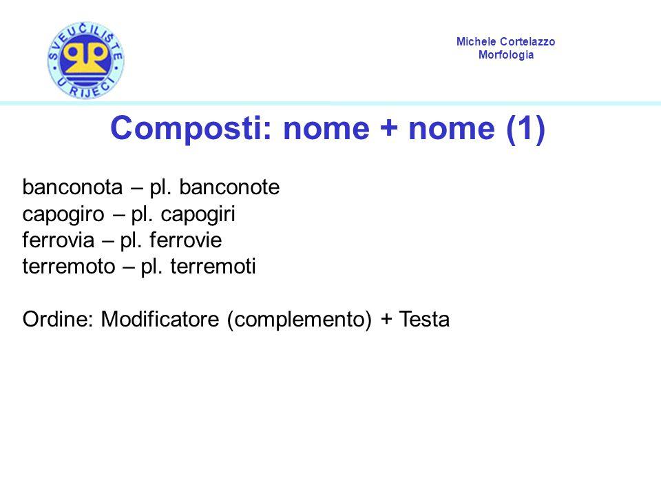 Composti: nome + nome (1)
