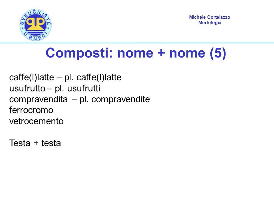 Composti: nome + nome (5)