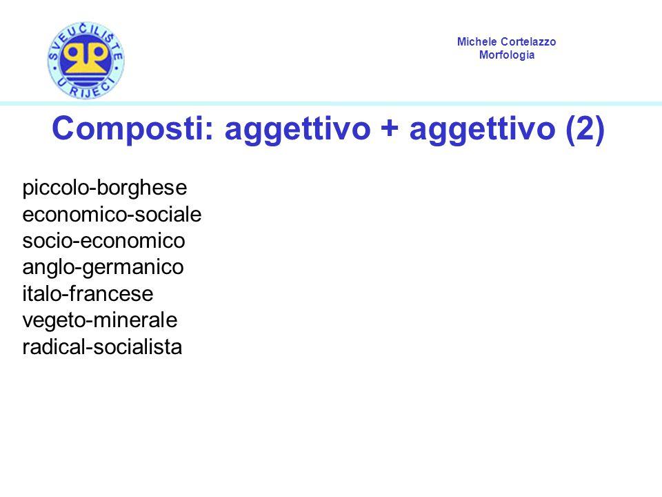Composti: aggettivo + aggettivo (2)