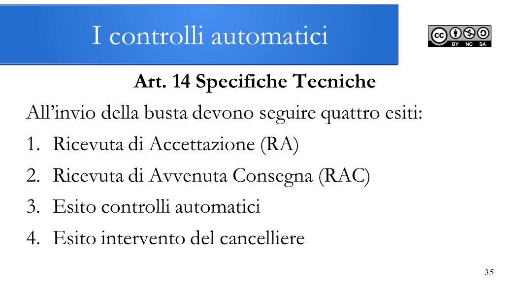 I controlli automatici