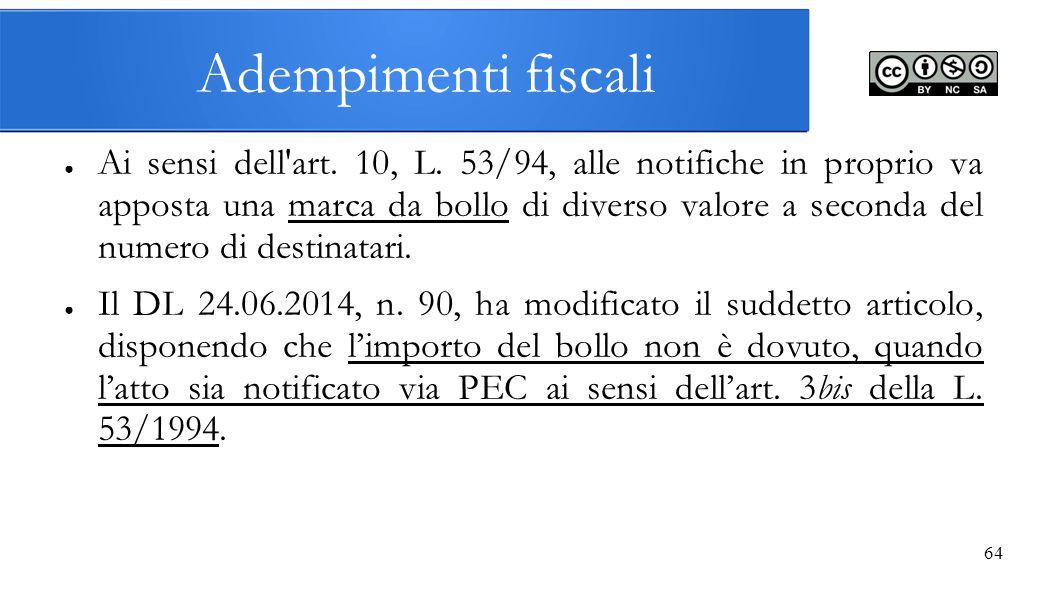 Adempimenti fiscali