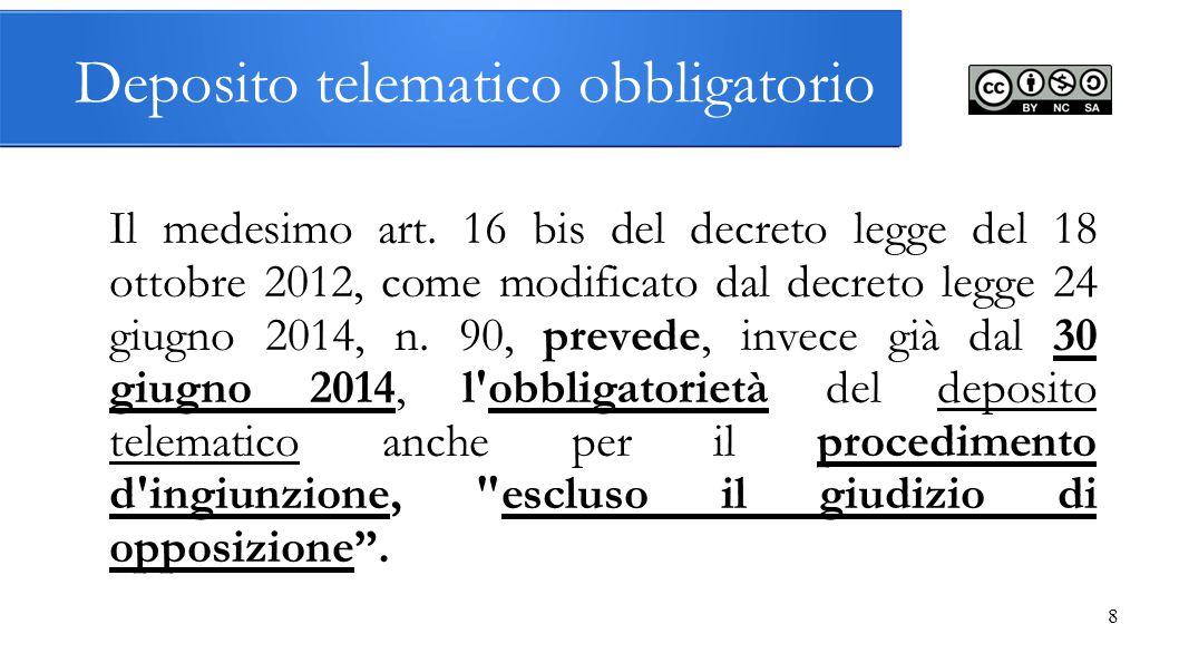 La normativa del processo civile telematico ppt scaricare - Art 16 bis del tuir ...