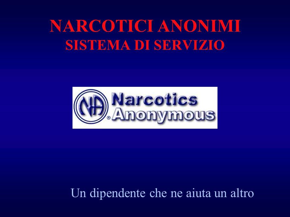 NARCOTICI ANONIMI SISTEMA DI SERVIZIO