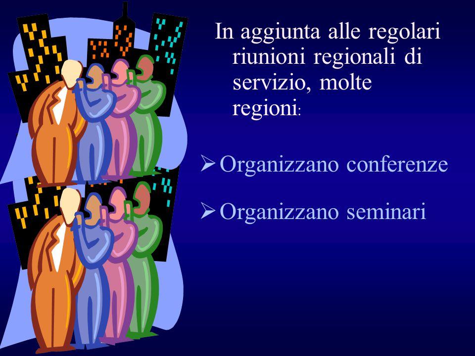 Organizzano conferenze