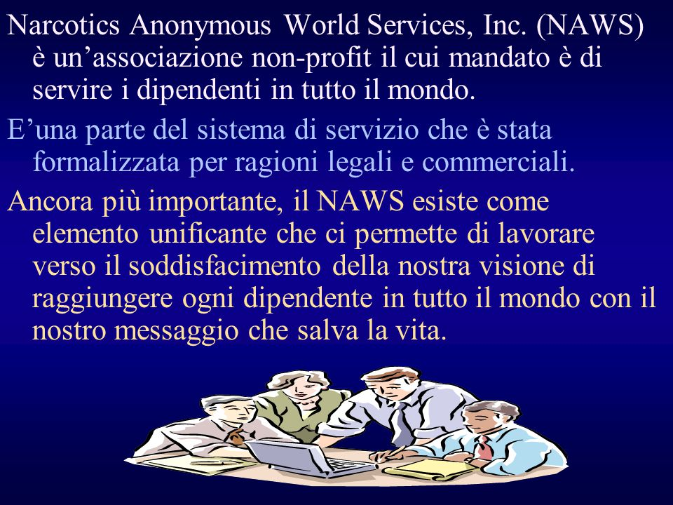 Narcotics Anonymous World Services, Inc