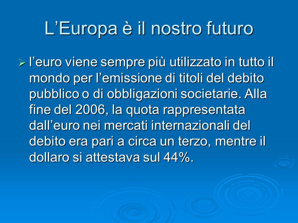L'Europa è il nostro futuro