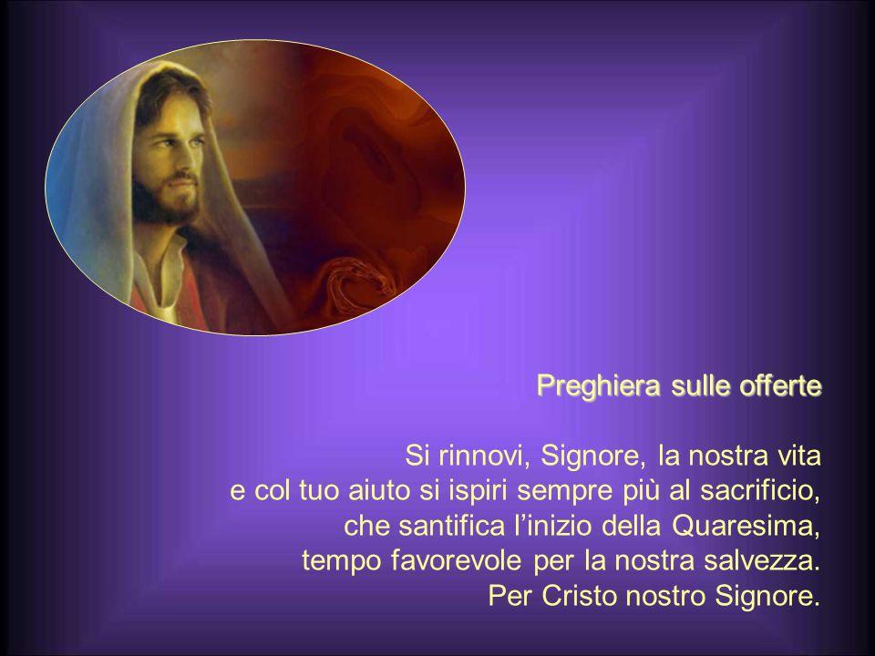 Preghiera sulle offerte