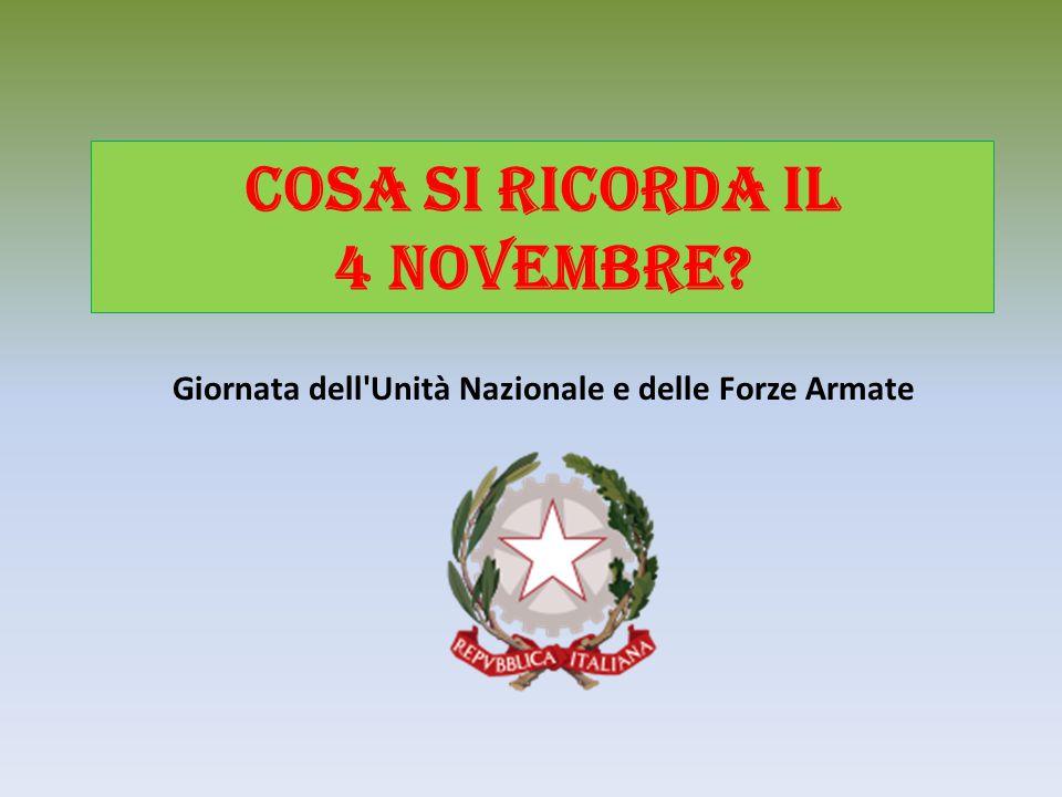 Cosa si ricorda il 4 novembre