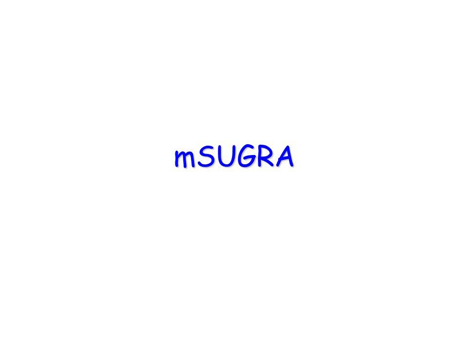 mSUGRA