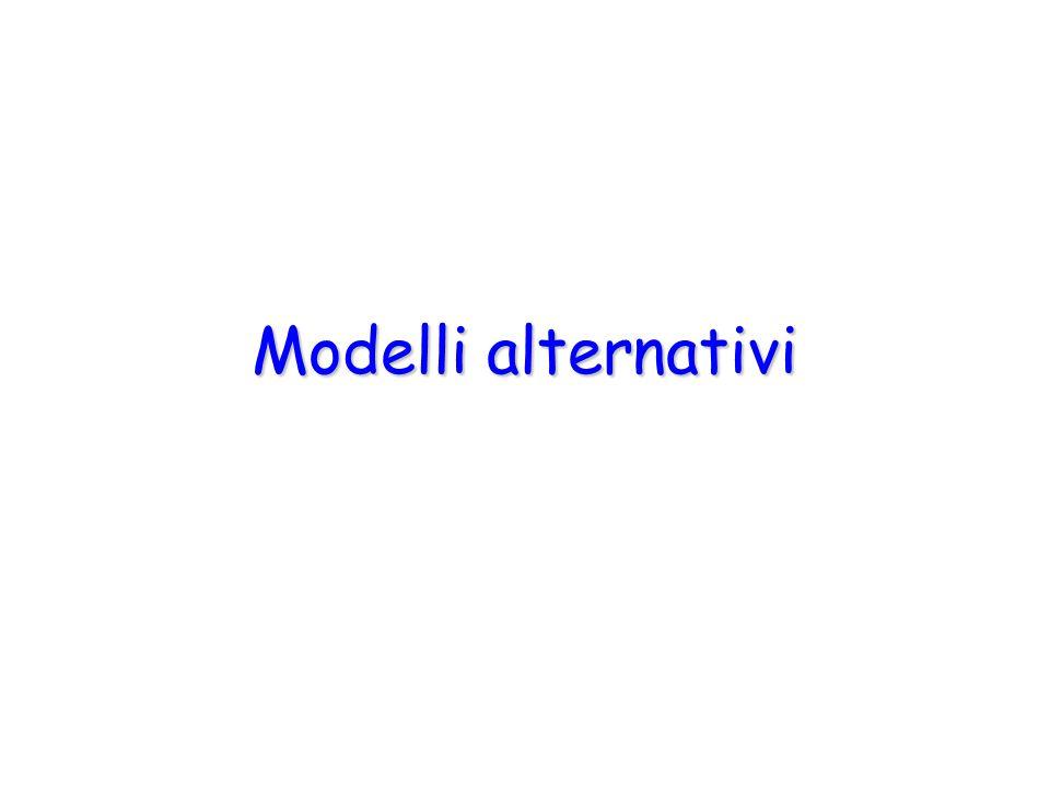 Modelli alternativi