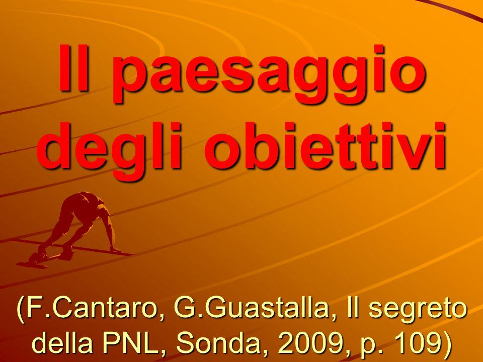 Il paesaggio degli obiettivi (F. Cantaro, G