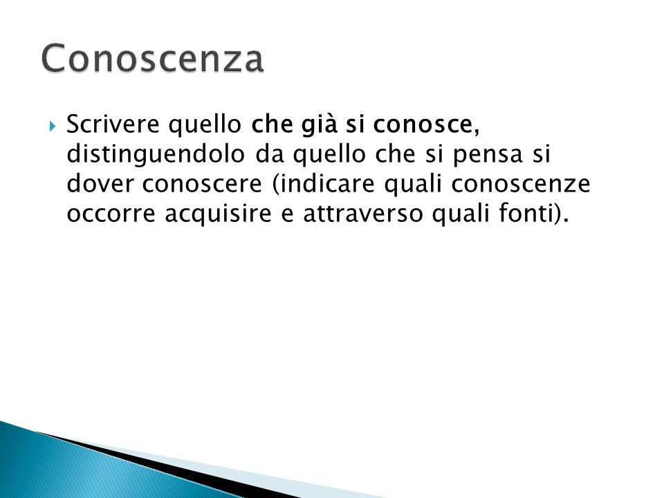 Conoscenza
