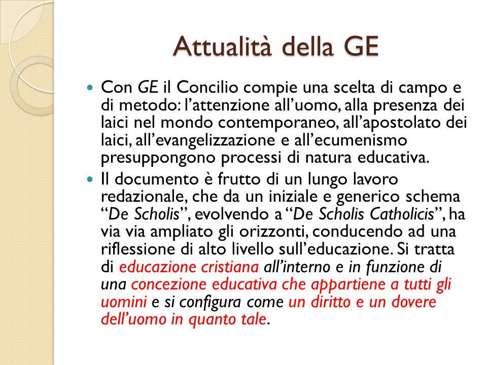 Attualità della GE