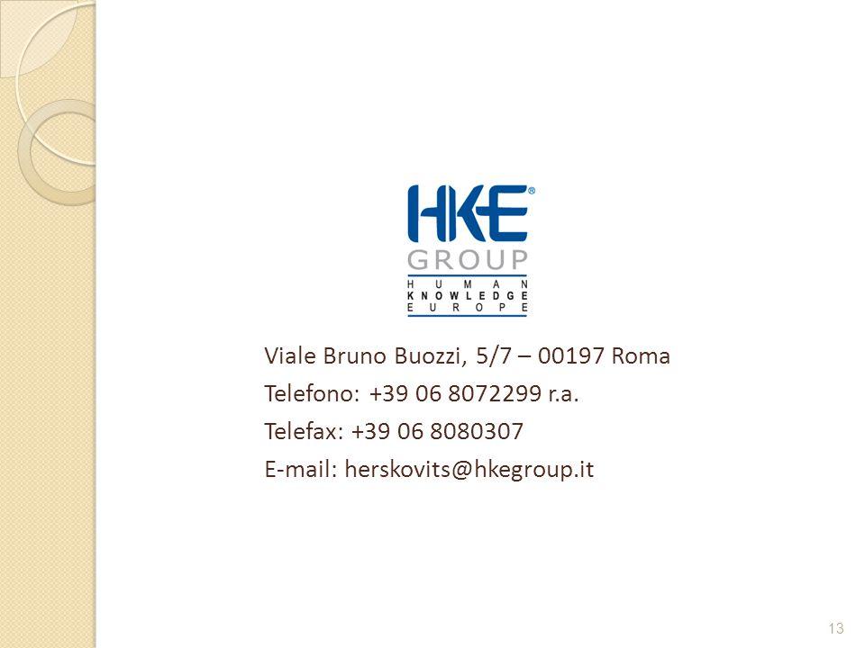 Viale Bruno Buozzi, 5/7 – 00197 Roma