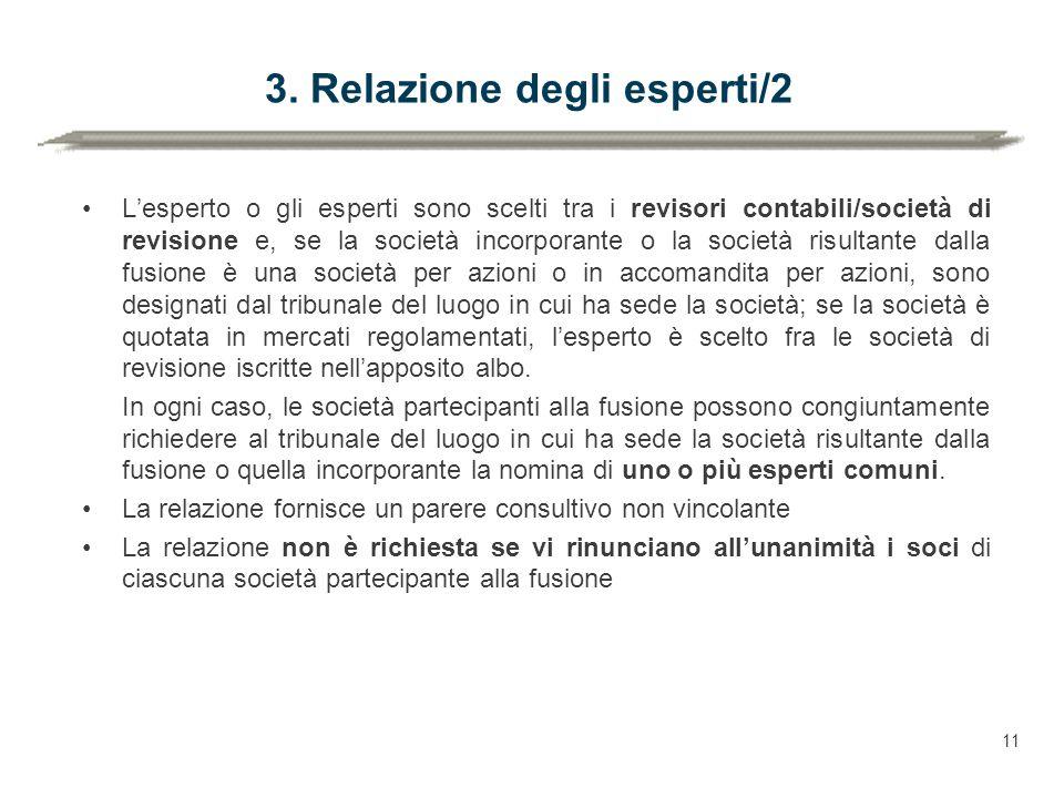 3. Relazione degli esperti/2