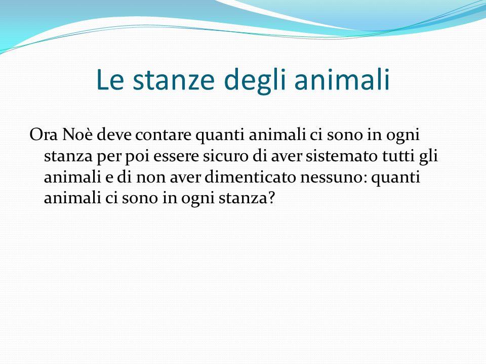 Le stanze degli animali