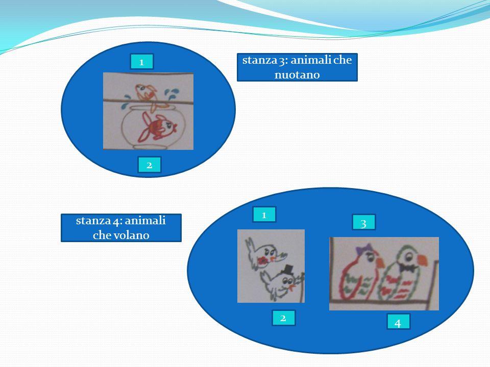 stanza 3: animali che nuotano