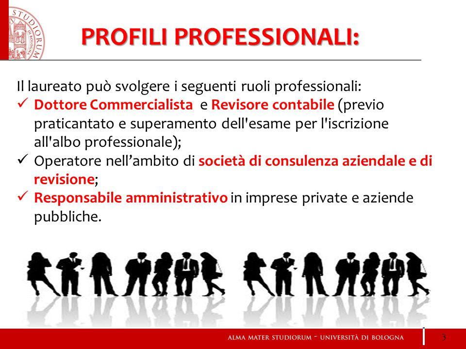 PROFILI PROFESSIONALI: