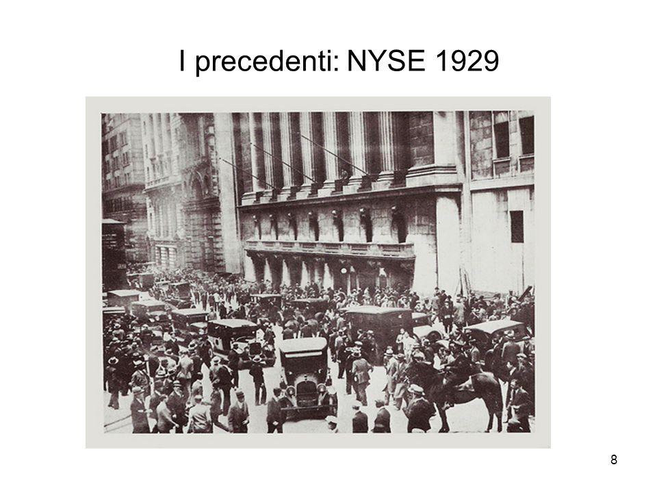 I precedenti: NYSE 1929