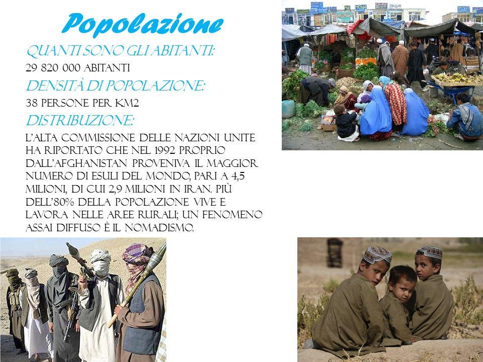 Popolazione Quanti sono gli abitanti: Densità di popolazione: