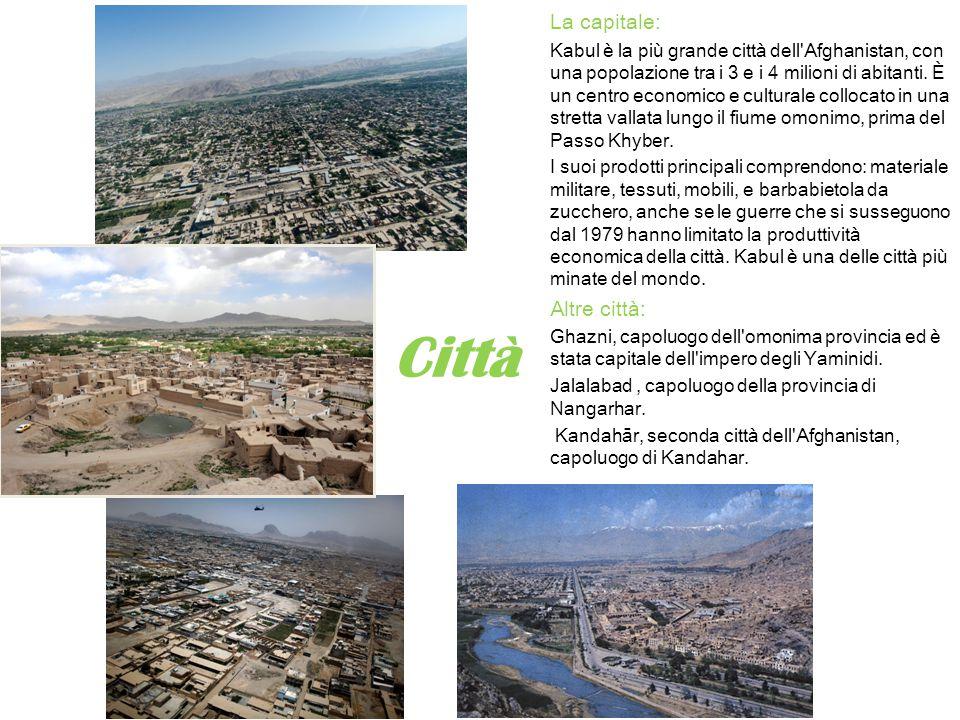 Città La capitale: Altre città: