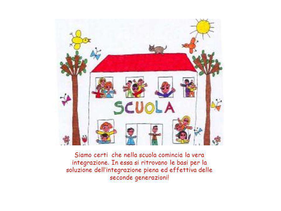 Siamo certi che nella scuola comincia la vera integrazione