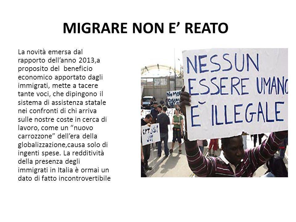 MIGRARE NON E' REATO