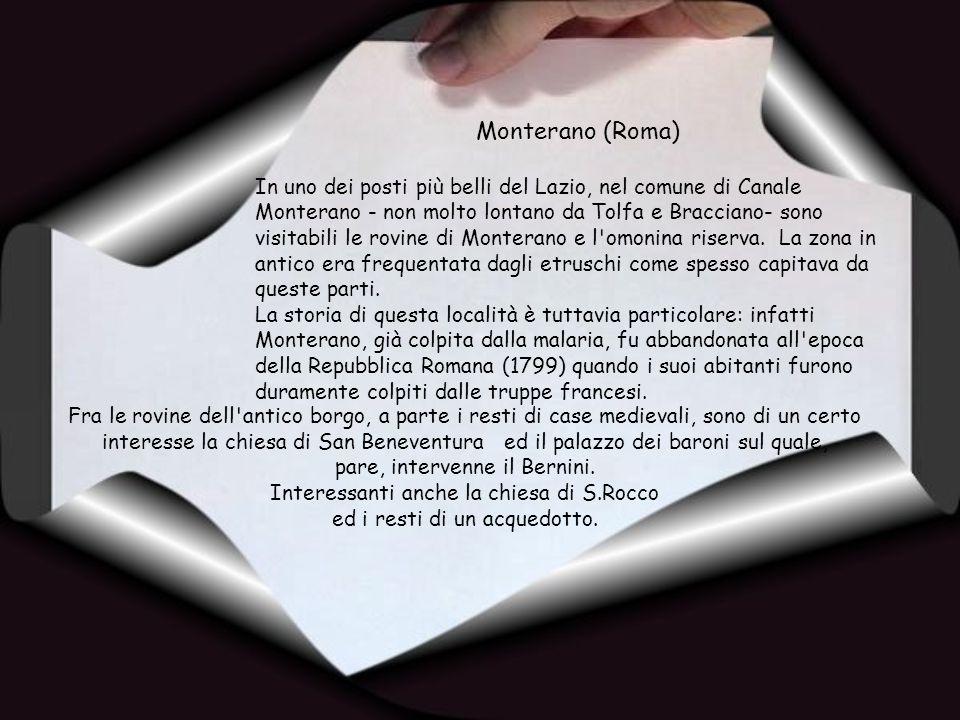Monterano (Roma)